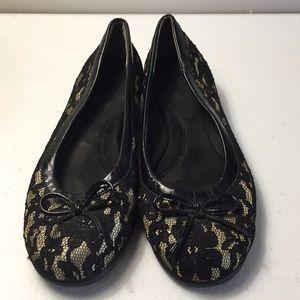 Aerosoles lace flats shoes